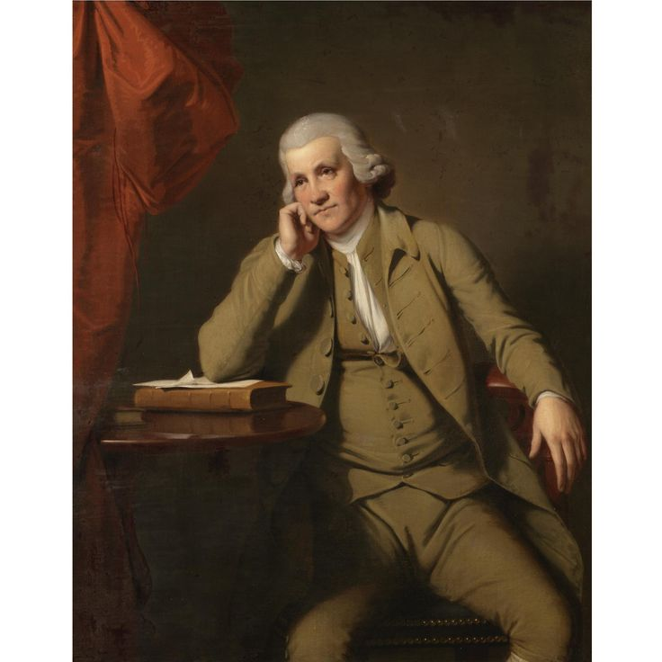 Joseph Wright of Derby painted this imposing portrait of the celebrated cotton manufacturer and inventor in circa 1787 when he had become well established as a leading figure in Derby.  From 1769 until 1782 Strutt had been in partnership with Richard Arkwright whose famous portrait is one of Wright's greatest masterpieces and is on loan to Derby Art Gallery.  Both Strutt and Arkwright were successful self made men and were characters with whom Wright felt particular affinity