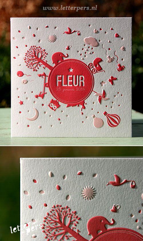 letterpers_letterpress_geboortekaartje_-fleur_preeg_roze_dieren_leven_lief