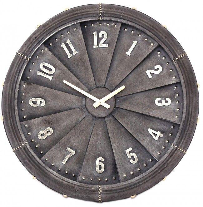 Large Iron Aeroplane Plane Aircraft Propeller Jet Engine Wall Clock 62cm Clock Large Metal Wall Clock Giant Wall Clock
