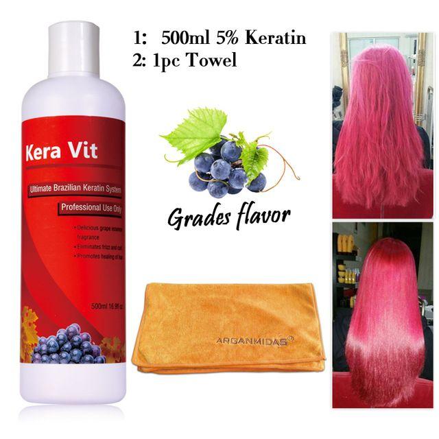 Tratamiento de Keratina Brasileña Kera Vit 1.6% Formalina 500 ml conseguir regalos gratis tratamiento de queratina brasileña alisamiento
