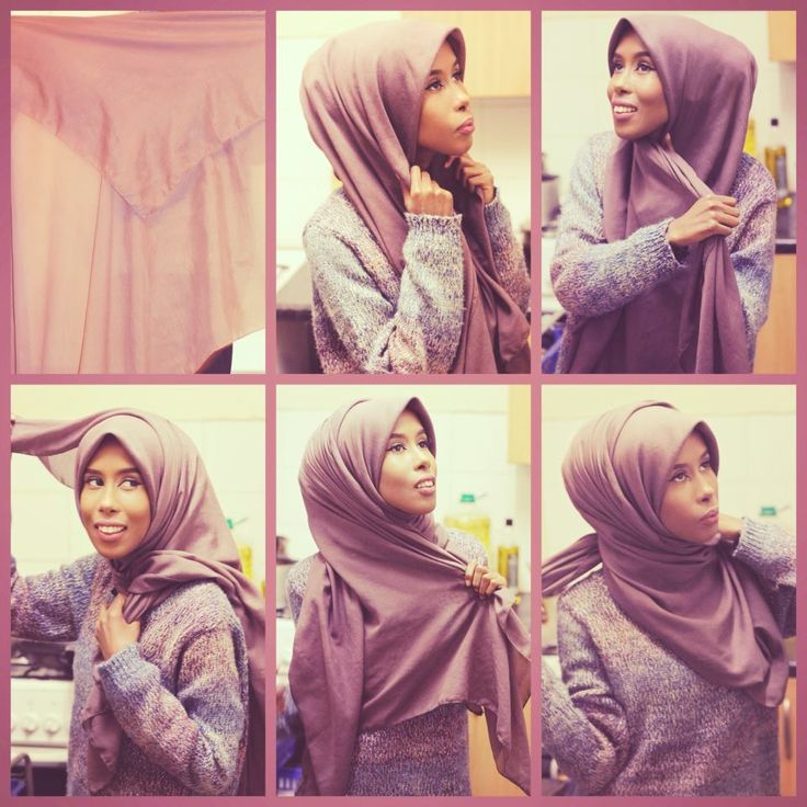 24 Best Images About Hijab Khimar Tutorials On Pinterest