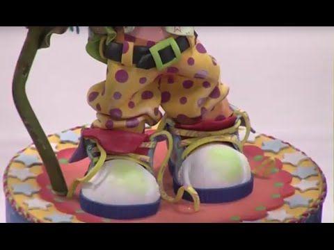 Como hacer el Pantalon y la parte baja de un Payaso en Foamy - Hogar Tv por Juan Gonzalo Angel - YouTube