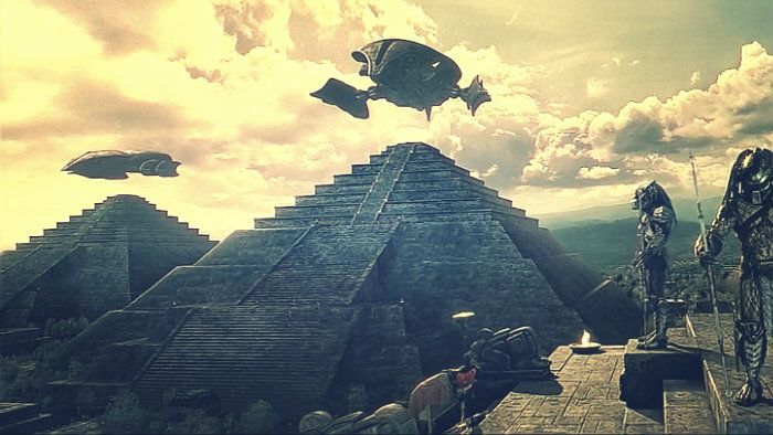 The Anunnaki have arrived to save our race.