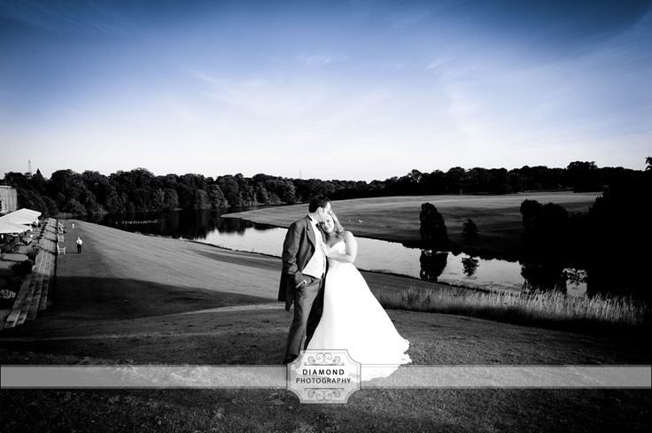 Wynyard Hall Wedding Photography - A lovely picture from Lorraine and Johns wedding a Wynyard Hall