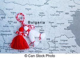 Bulgaarse traditie Martenitsa