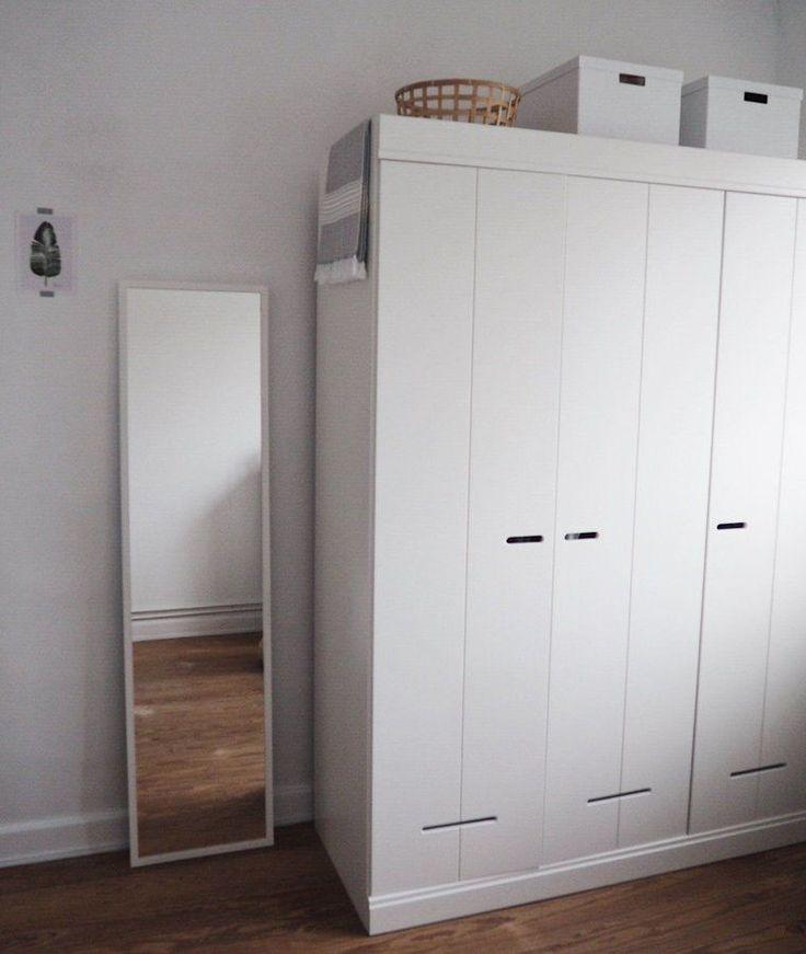Schrankzeit | SoLebIch.de Foto: Wohnelbe #solebich #ankleidezimmer  #interior #interiorideas #ideen #einrichten #schlafzimmer #offen #kleines # Deko ...
