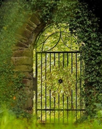 Thresholds:  Secret Garden Gate.
