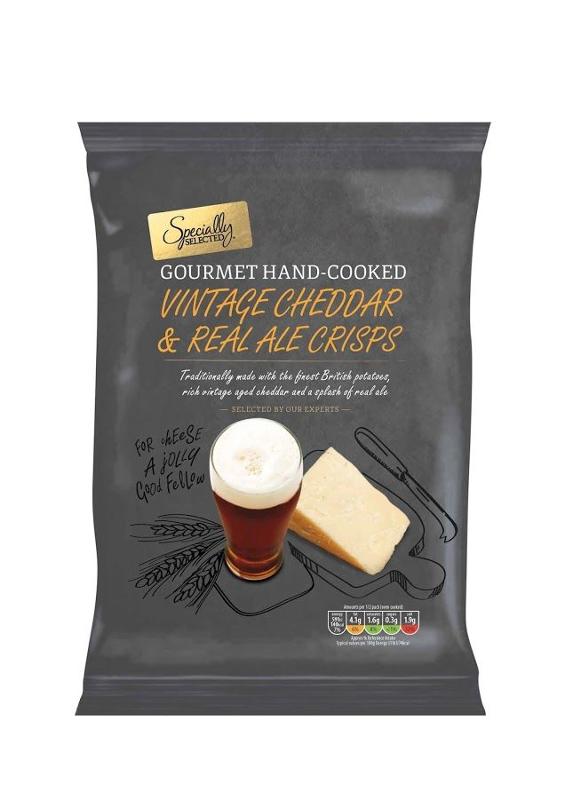 Aldi Specially Selected Crisps on Packaging of the World - Creative Package Design Gallery