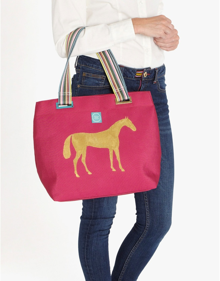 Love this horse bag: Hors Bags, Bags Jouleswishlist, Totes Woman, Woman Totes, Totes Bags, Christmas Wishlist, Joul Totes, Tote Bags, Joul Christmas