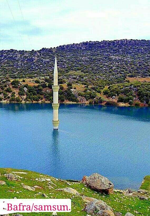 ✿ ❤   Batık minare Bafra / SAMSUN, Turkey