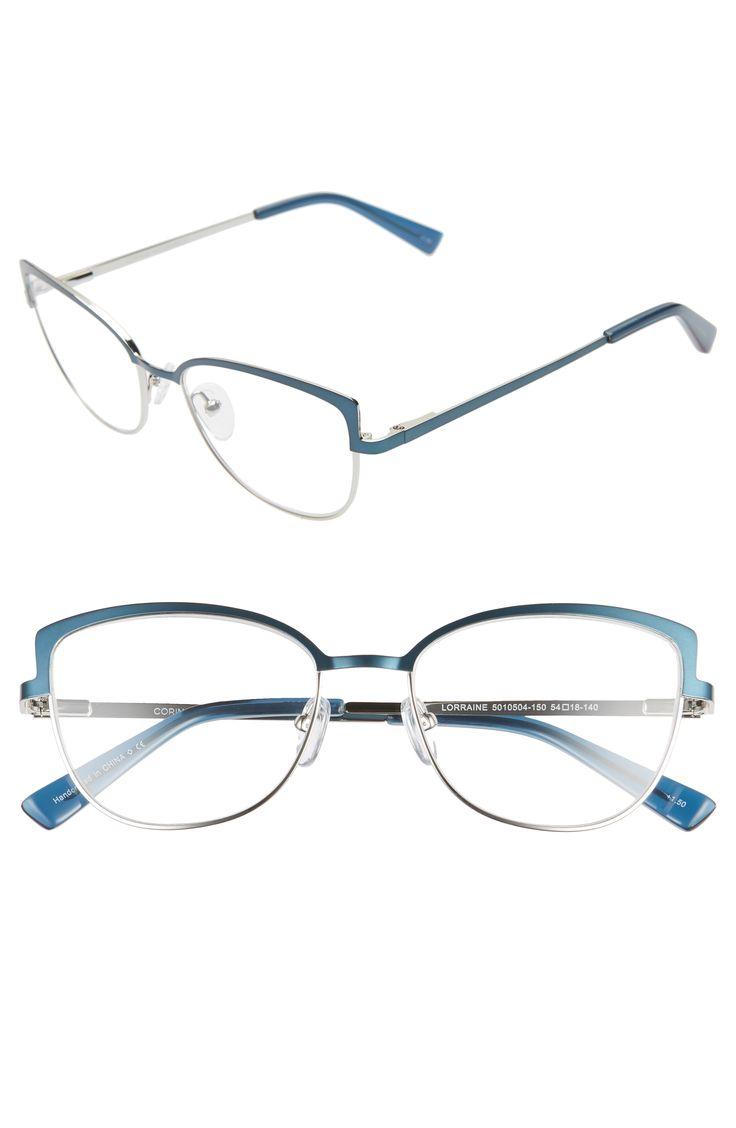 Women's Corinne Mccormack Lorraine 54Mm Reading Glasses – Blue