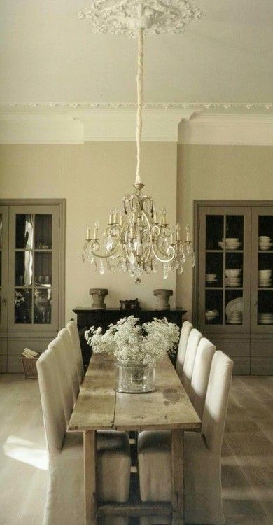 Little bit simple, little bit rustic...all elegant and lovely.