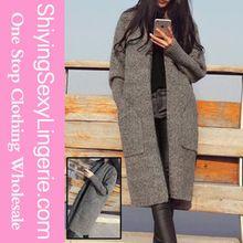 Hot Selling Grey Maternity Knit Longline Cardigan Women Long Coat Turkey  Best Seller follow this link http://shopingayo.space