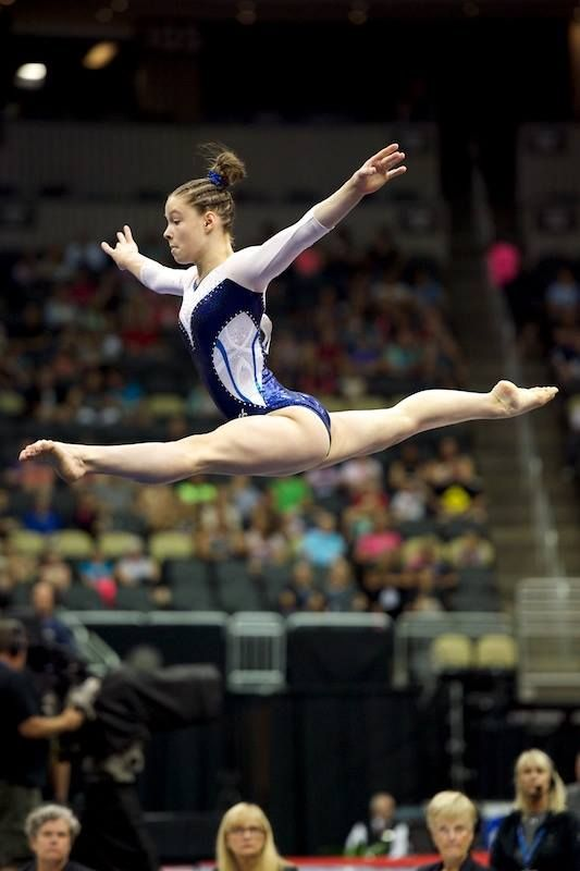 Megan Skaggs--2014 P&G Championships day one
