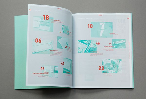 self promotional booklet and updated online portfolio.