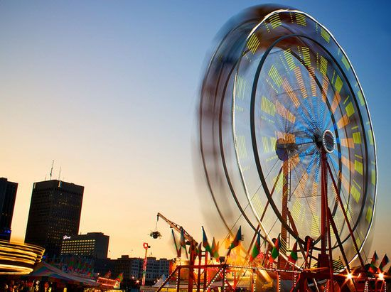 Check out the sights and sounds of The Forks (Photo: AJ Batac). #Winnipeg #manitoba