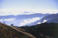 La serranía en el sector de los Montes de Oca.