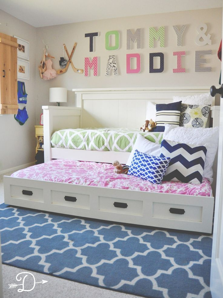 Dear Son & Dear Daughter's Shared Bedroom | Boy and girl ...