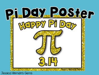 FREE Pi Day Poster