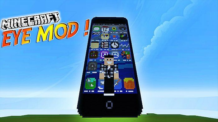 Eyemod Mod for Minecraft 1.8/1.7.10  - MinecraftIO.Com -   Eyemod Mod is one of the most interesting mod in Minecraft world. This mod takes the inspiration from Grand Theft Auto series. In particularly, this mod adds a device known as a super-powered phone – EyePod.   #Minecraft1710Mods, #Minecraft18Mods, #Minecraft181Mods -  #MinecraftMods