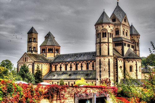 Abtei Maria Laach in der Voreifel by Heribert Pohl #Germany #HDR