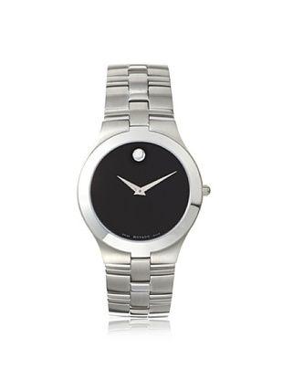 36% OFF Movado Men's 605023 Juro Silver/Black Stainless Steel Watch