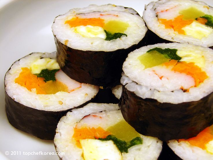 korean snack recipes | ... (김밥) | Top Chef Korea - Authentic Korean Food Recipes in English