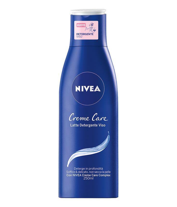 Creme Care Latte detergente viso, Nivea