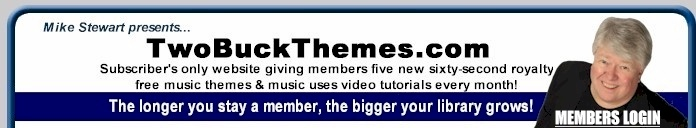 Royalty Free Music For CDs, Podcasts, Videos, DVDs Only $2 a Track!