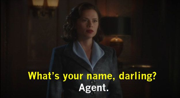 "Nor does she let a man assume she's a secretary. | 63 Gloriously Feminist Moments From ""Agent Carter"""