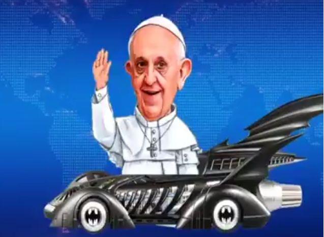 """⚡️ """"9 memes del ¡¿batimóvil?! del Papa Francisco""""  https://twitter.com/i/moments/904866547302367232"""