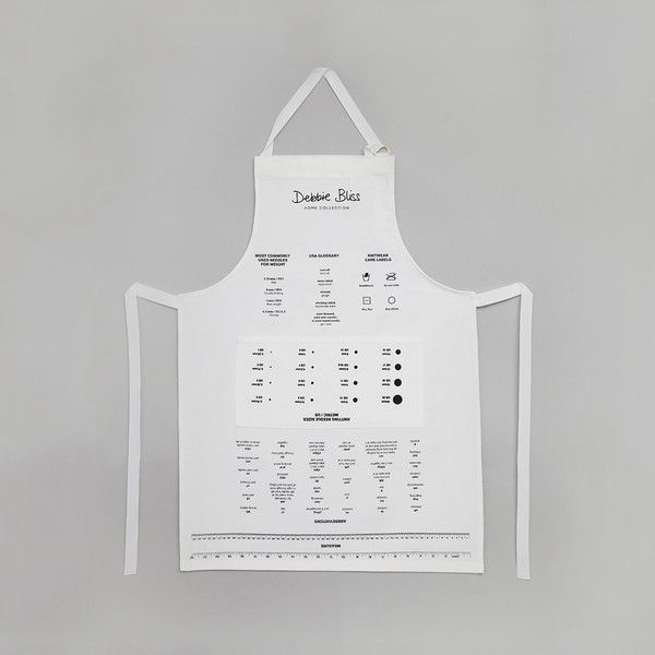 Knitting Aid Apron exclusively available from http://shop.debbieblissonline.com