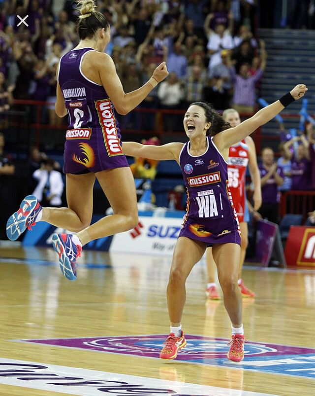 Caitlyn Nevins and Kim Ravaillion happy of win 2016 grand final