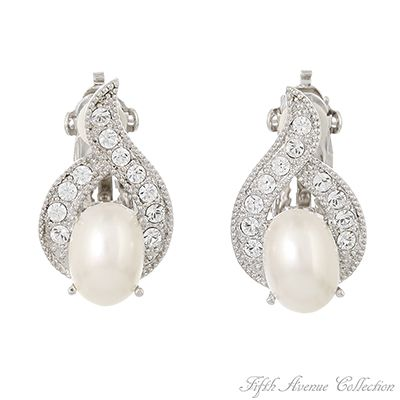 Woman's Earrings Our Compliments- Fifth Avenue Collection