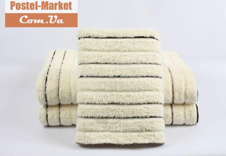 Махровое полотенце M. SPORT Lux кремовое Izzihome . в интернет магазине Постель Маркет ( Киев, Украина )