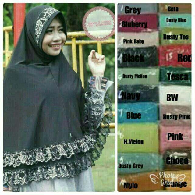 Saya menjual Hijab Jumbo R. 2 seharga Rp65.000. Dapatkan produk ini hanya di Shopee! https://shopee.co.id/hamzahnisa21/656646914 #ShopeeID