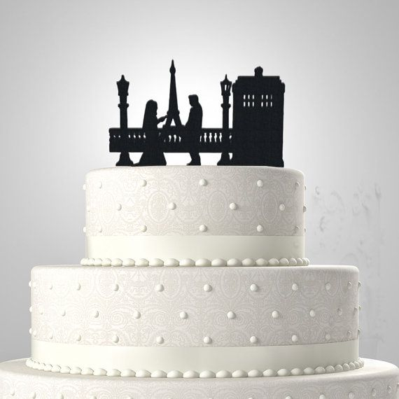 Tardis Wedding Cake Topper Scenes | Wedding cake toppers ...
