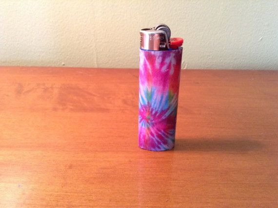 tye dye custom bic lighter by Lightspo on Etsy