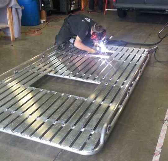 custom van roof racks - Google Search