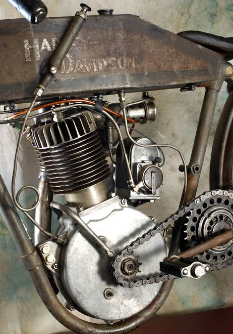 1915 M HARLEY BOARD TRACK RACER