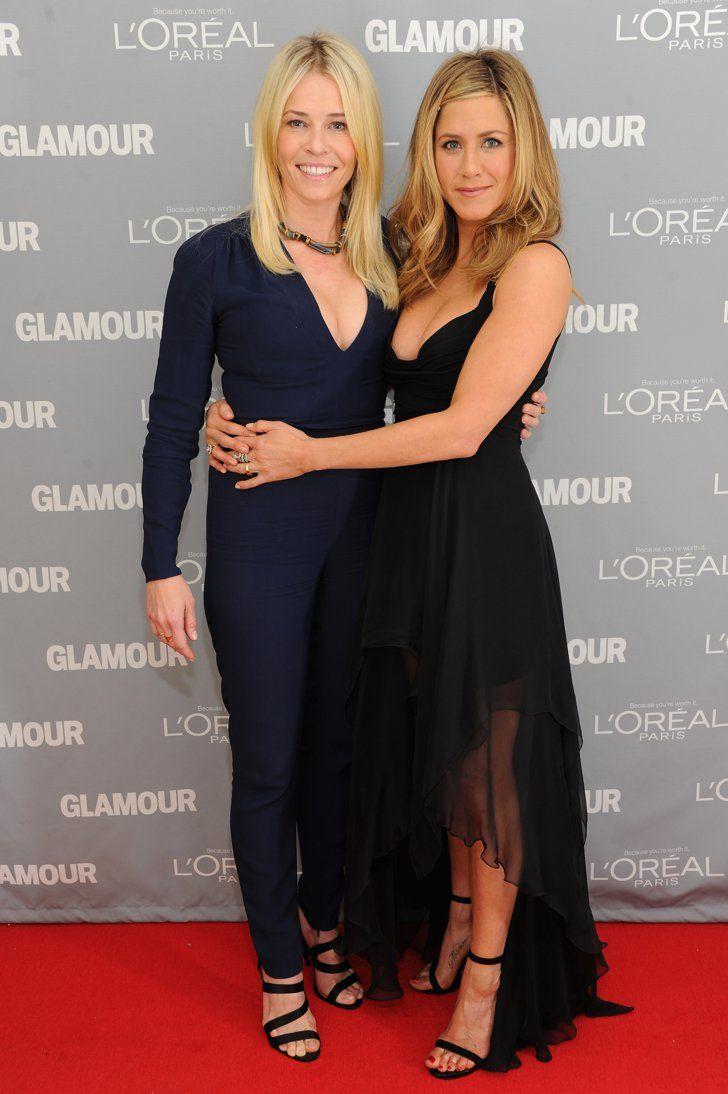 Pin for Later: Jennifer Aniston Est la Reine Incontestée du Total Look Noir…