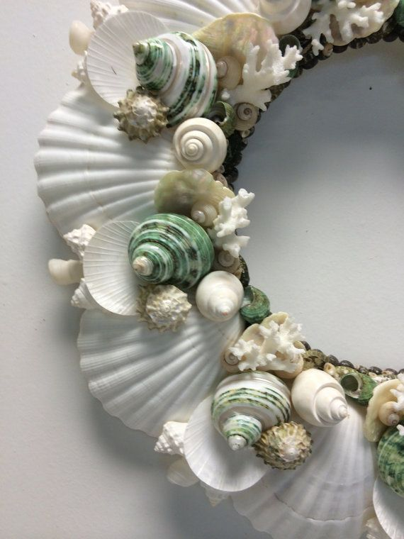 Hey, I found this really awesome Etsy listing at https://www.etsy.com/listing/202752050/beach-decor-coastal-christmas-seashell
