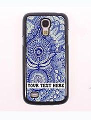 gepersonaliseerde telefoon case - muurschildering ontwerp metalen behuizing voor Samsung Galaxy S4