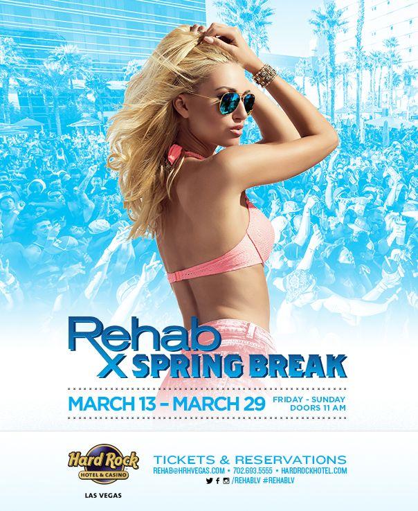 Spring Break 2015 – Rehab Pool Party #SpringBreak #Rehab #LasVegas #Bikinis