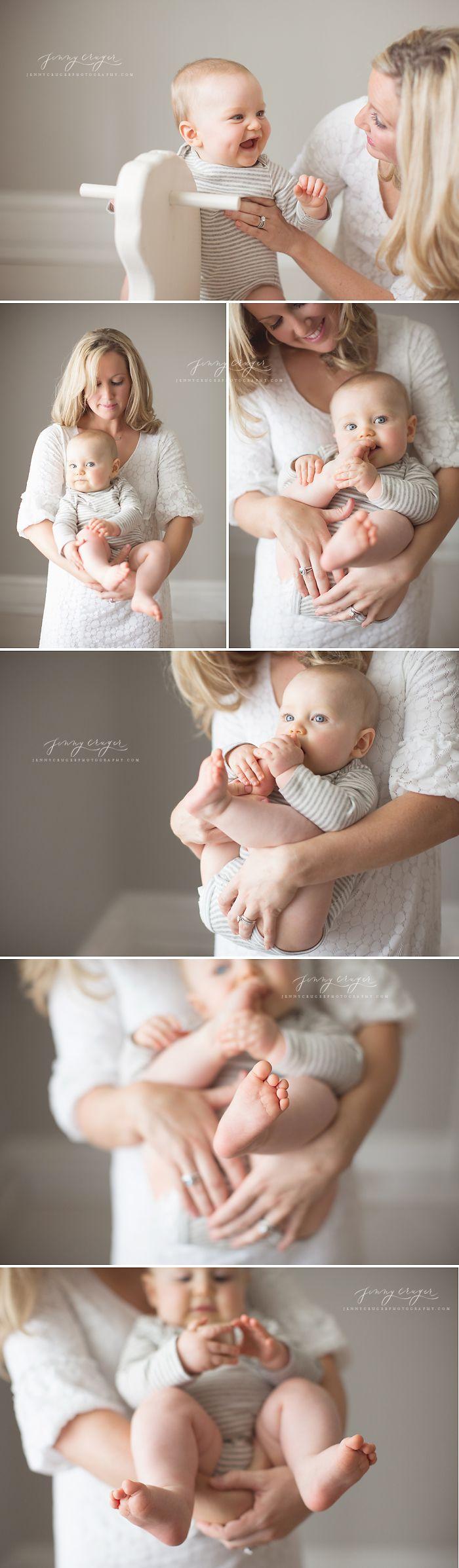 6 months - jenny cruger photography | nashville baby photographer