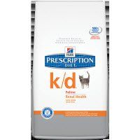 Hill's Prescription Diet k/d Feline Renal Health Dry Food   Pet Food Direct  4lbs $23.36 8.5lbs $41.99