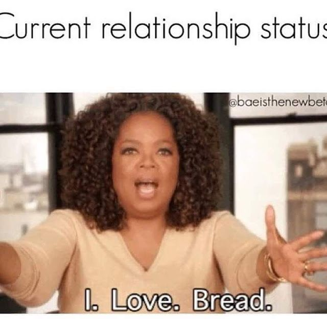 flirting meme with bread quotes without love