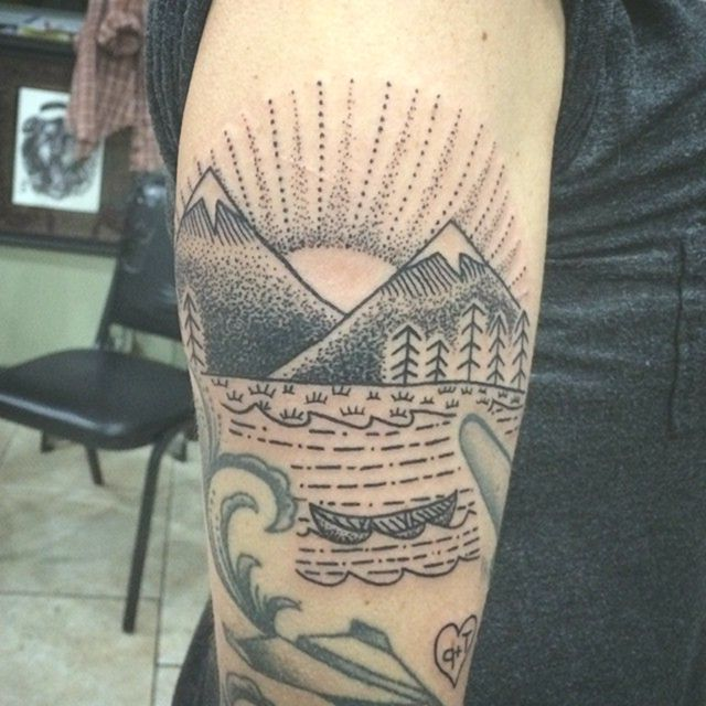 80+ Spektakuläre Mountain Tattoo – Designs & Bedeutungen für alle Altersgruppen –