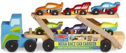 Melissa & Doug Jumbo Race-Car Carrier $29.98 - from Well.ca