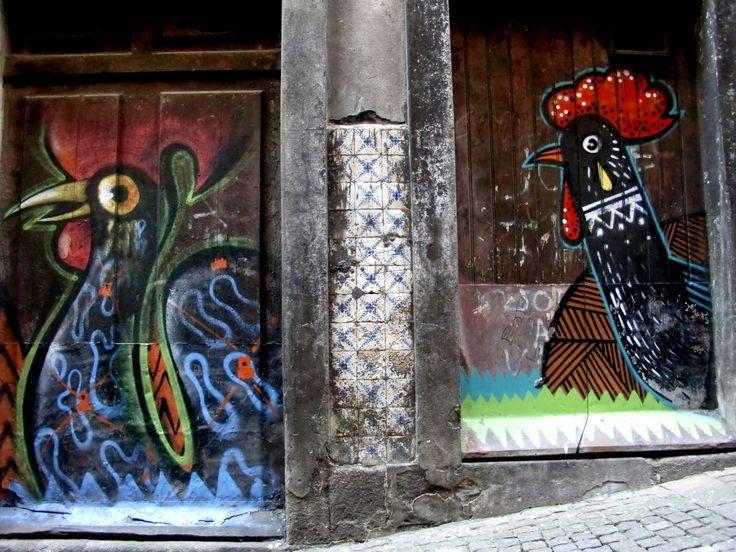 Galo de Barcelos - Porto, Portugal